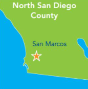 Map for San Marcos. See address prior to image.